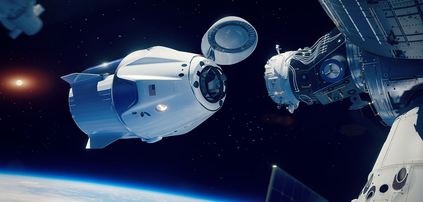 SpaceX docking to the International Space Station