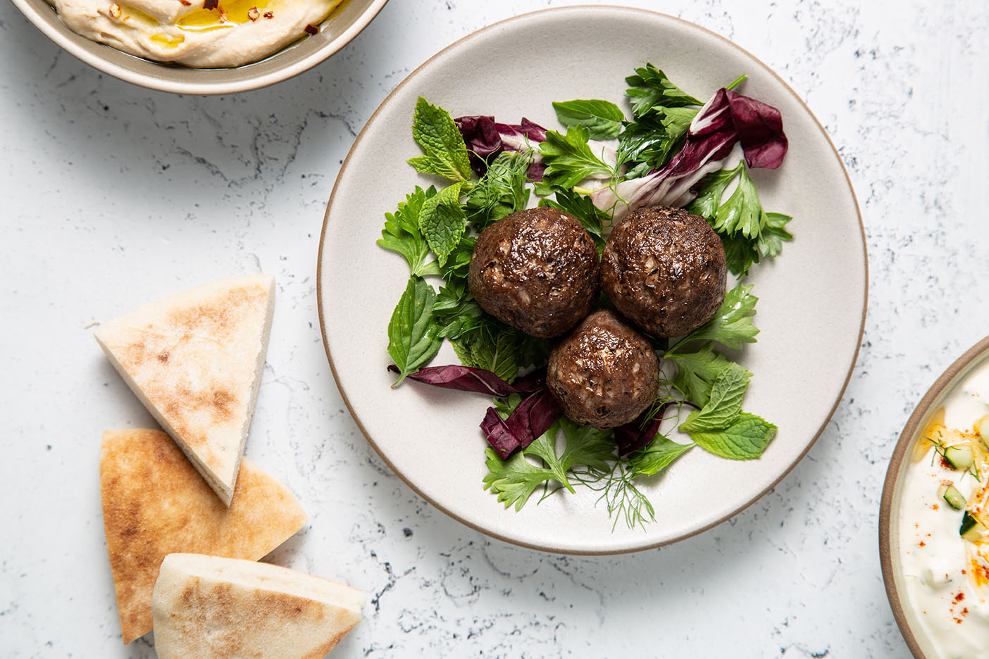the world's first cell-based beef meatballs