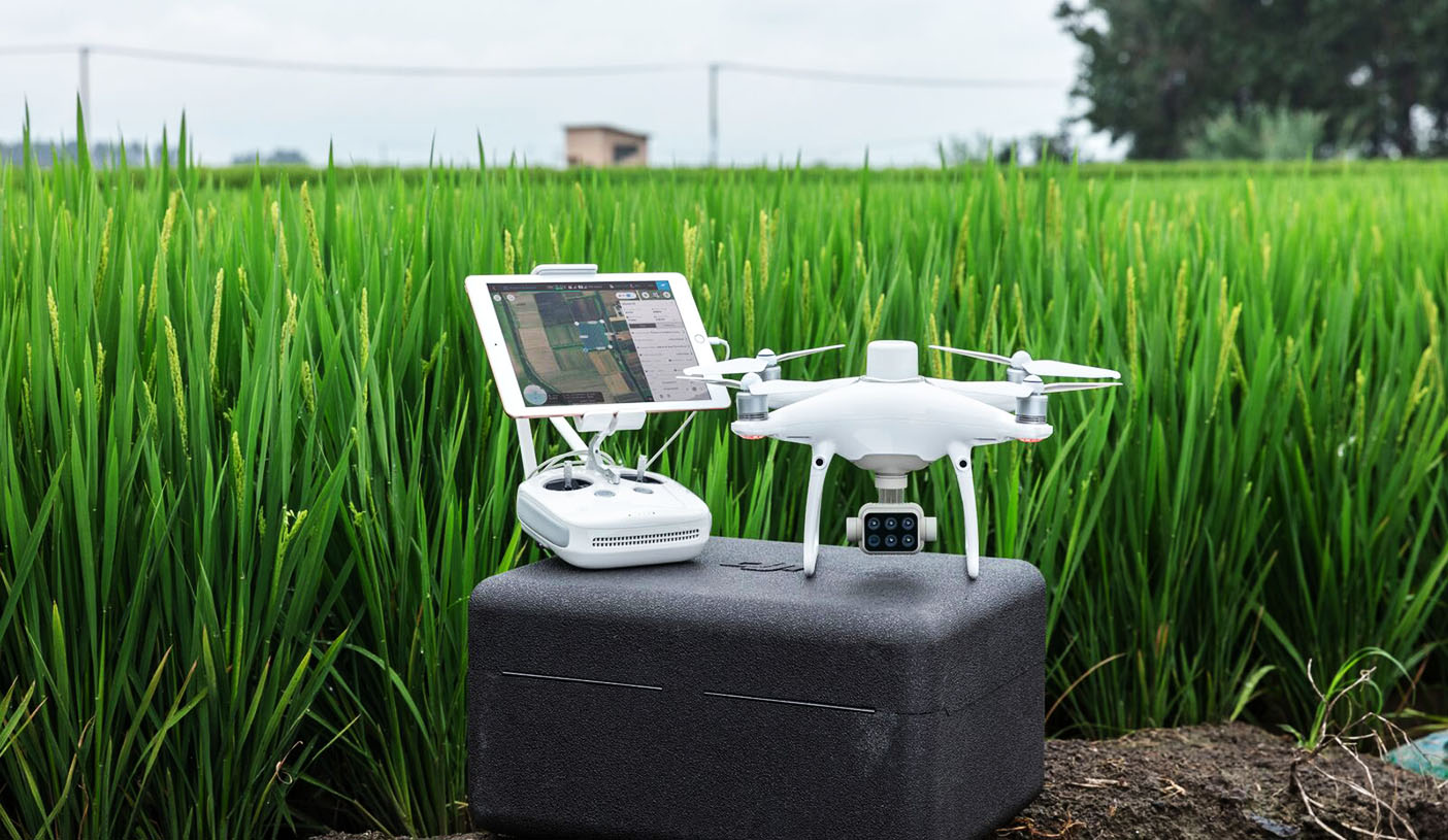 P4 Multispectral - thePrecision Agriculture and Land Management' drone