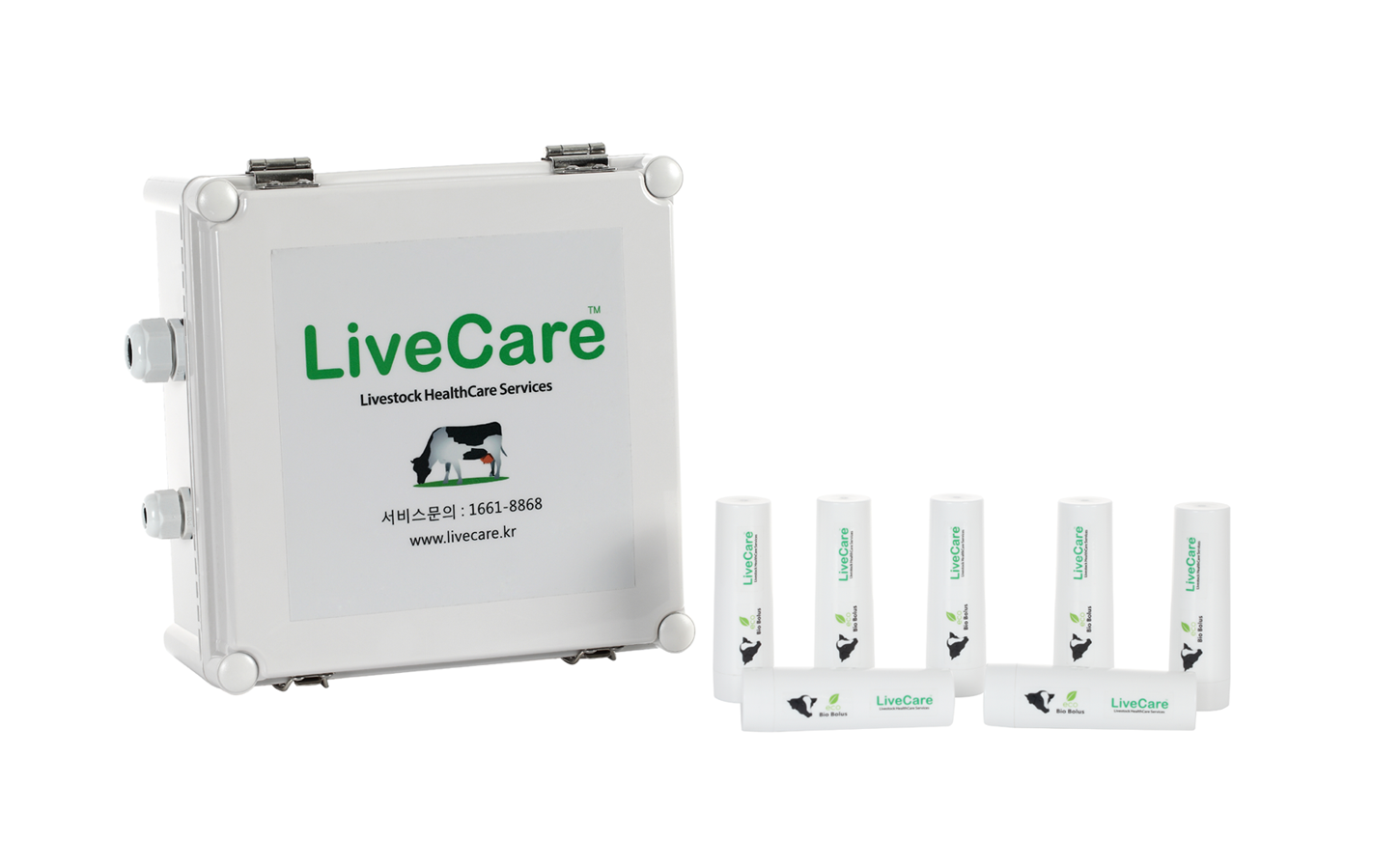 The LiveCare data gathering device and capsules