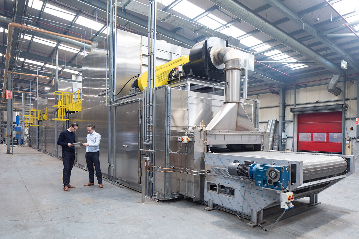 Cullen's new moulded pulp line, commissioned in 2019 increased the company's capacity by 20%