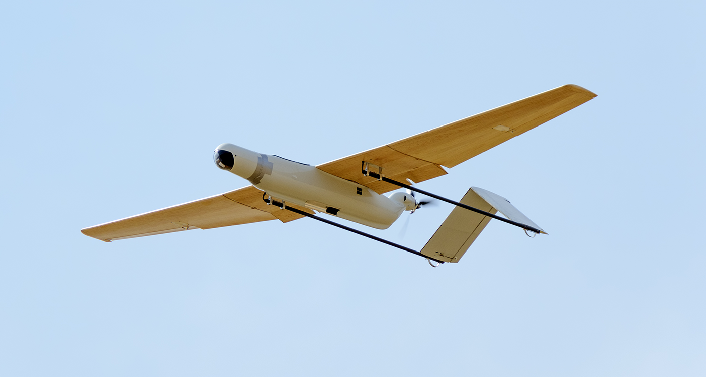 Fixed wing surveillance drones