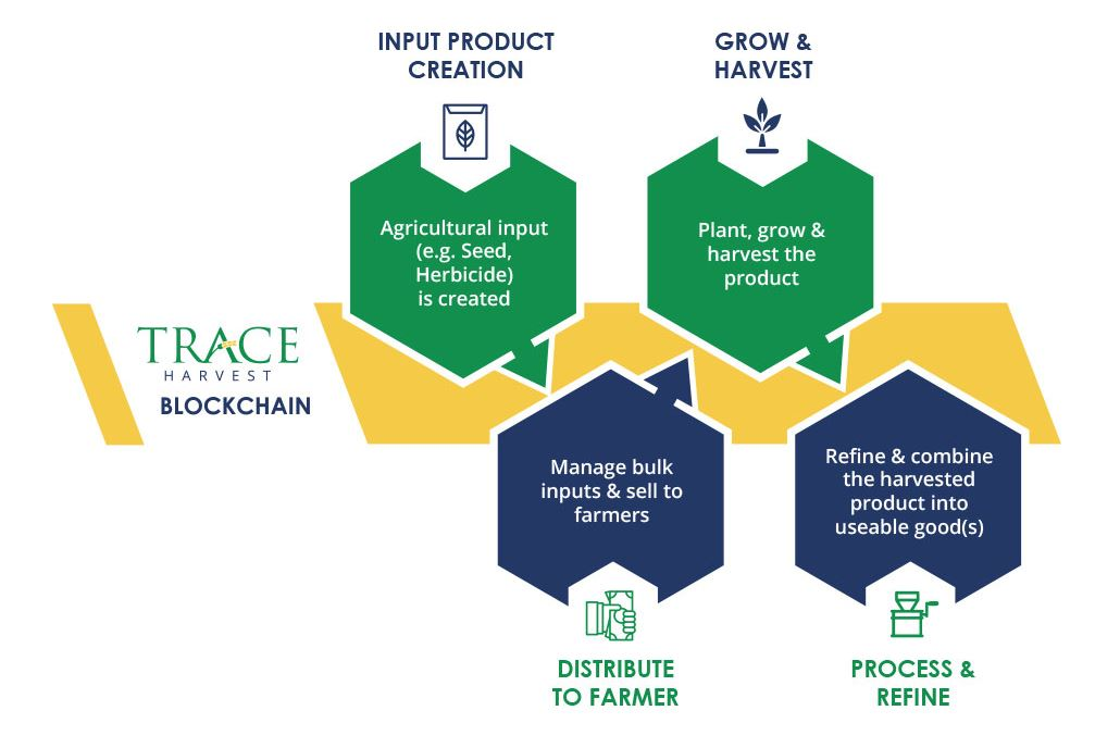 Seed Traceability solution built in collaboration withBayer Crop Science [Infographic source: BlockApps]
