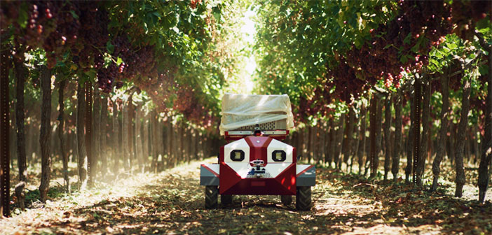 Future Acres reveals 'Carry' its harvesting agbot for specialty crops