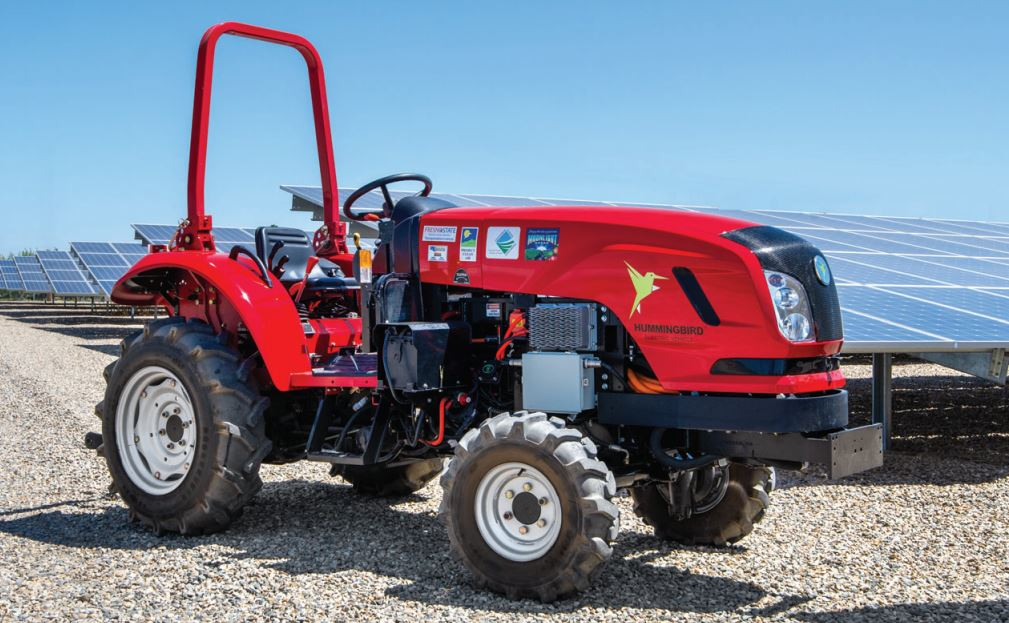 """""""These electric tractors from HummingbirdEV are helping us reach our sustainability goals throughout our farming operation."""" said Ty Tavlan, Moonlight Companies"""