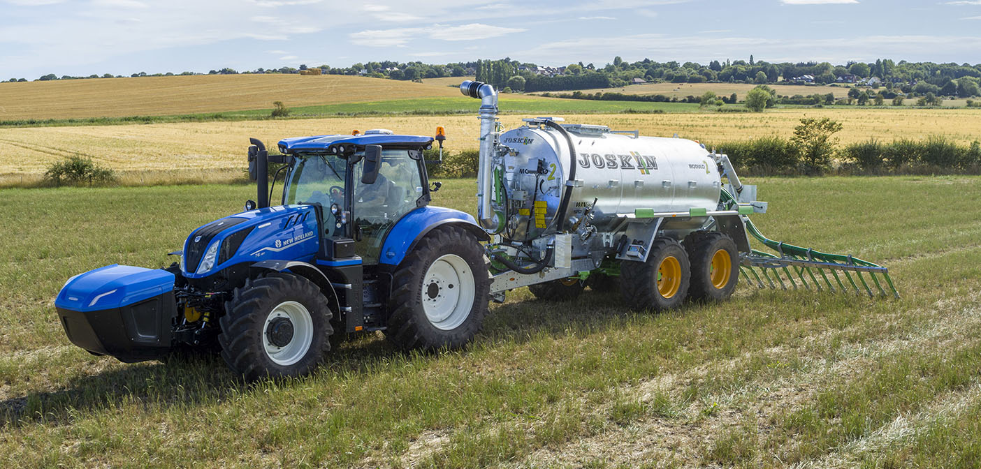 New Holland methane powered tractors ready for delivery