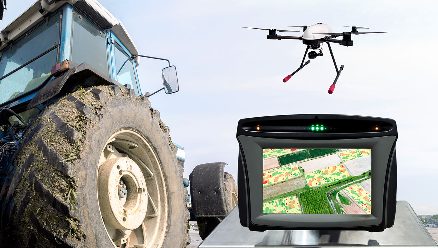 Remote aerial imaging, unmanned aerial vehicles and in-field environmental monitoring