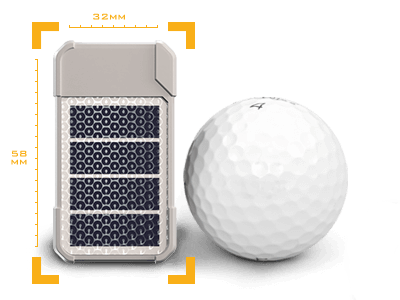 The GSatSolar Rancher is small and takes the form of an ear tag