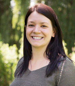 Dr Laura Vickers, Senior Lecturer in Plant Biology and coordinator of the Urban Farming Group