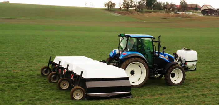 Tractor mounted ARA plant protection spraying machine