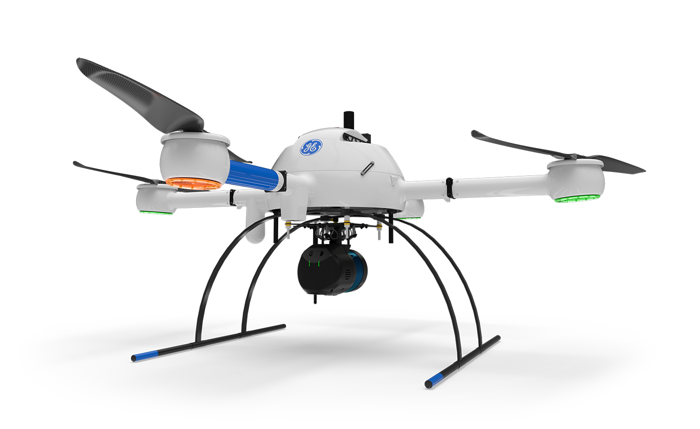 The newest member of the GE industrial drone line, the mdLIDAR1000LR